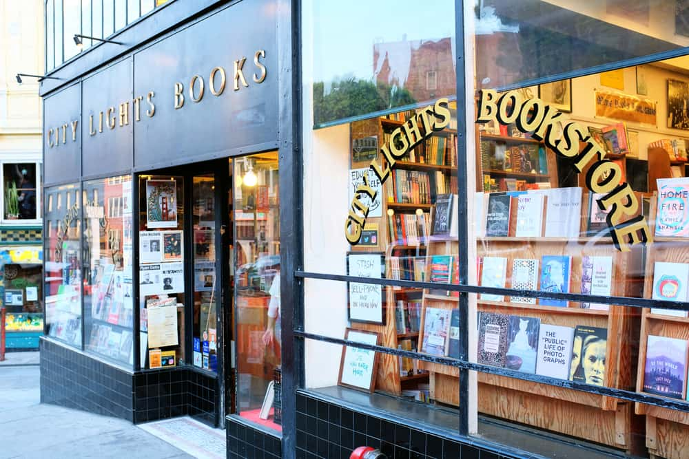 City Lights bookstore in San Fransisco