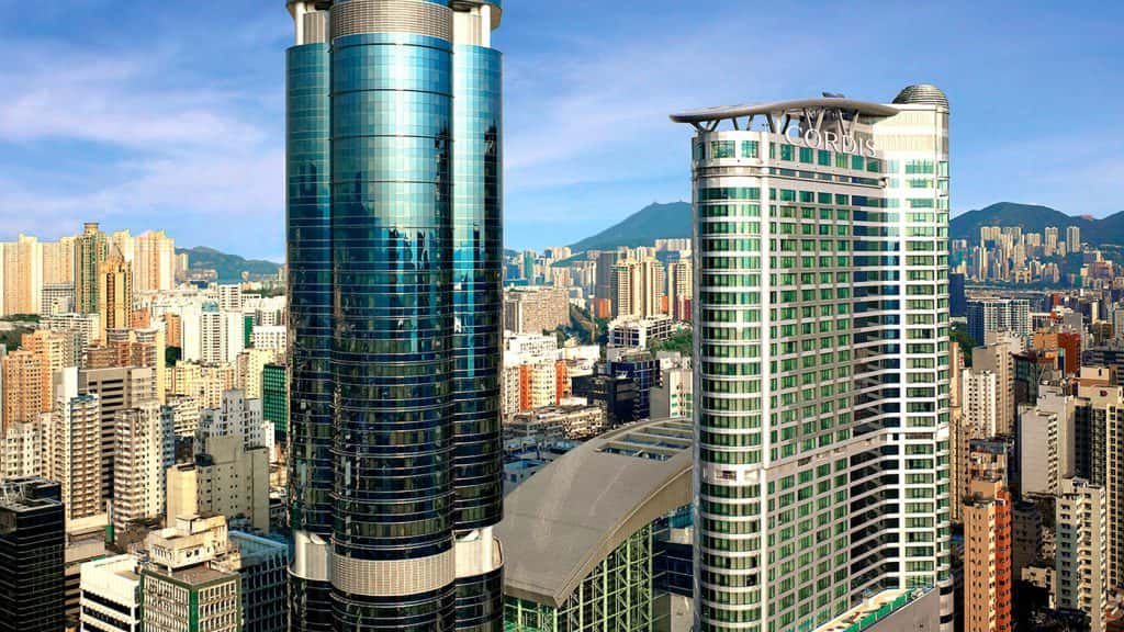 The Langham Place hotel in Hong Kong