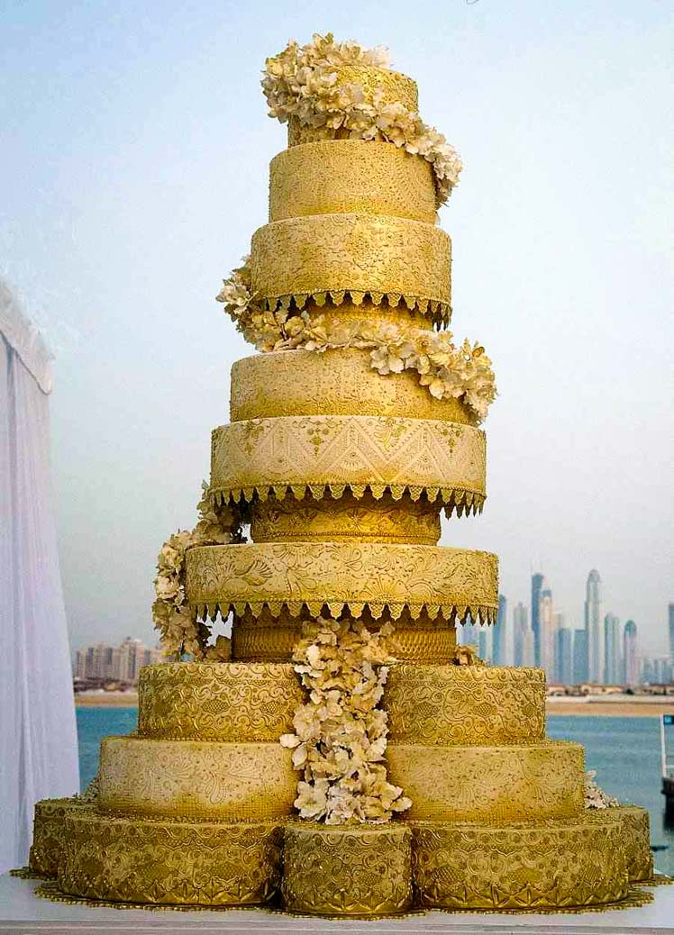 Atlantis wedding cake