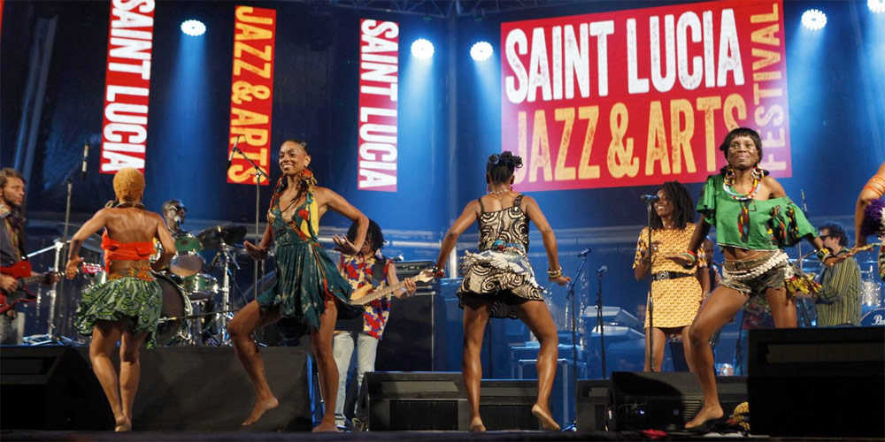 St Lucia Jazz and Arts Festival - Top Caribbean events and festivals 2016