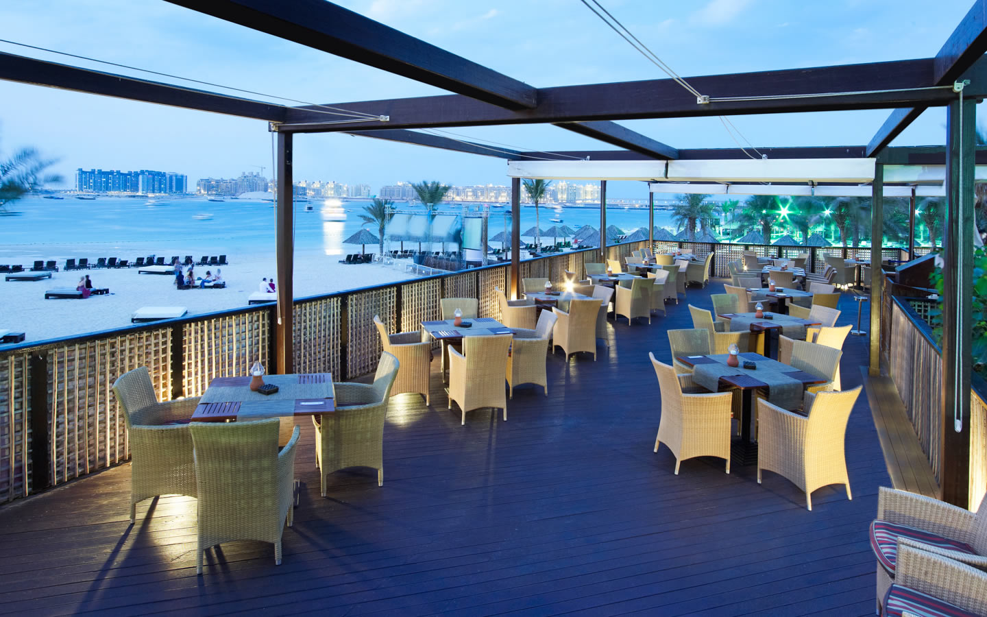 15 Best Outdoor Terraces in Dubai - Barasti, Le Meridien Mina Seyahi