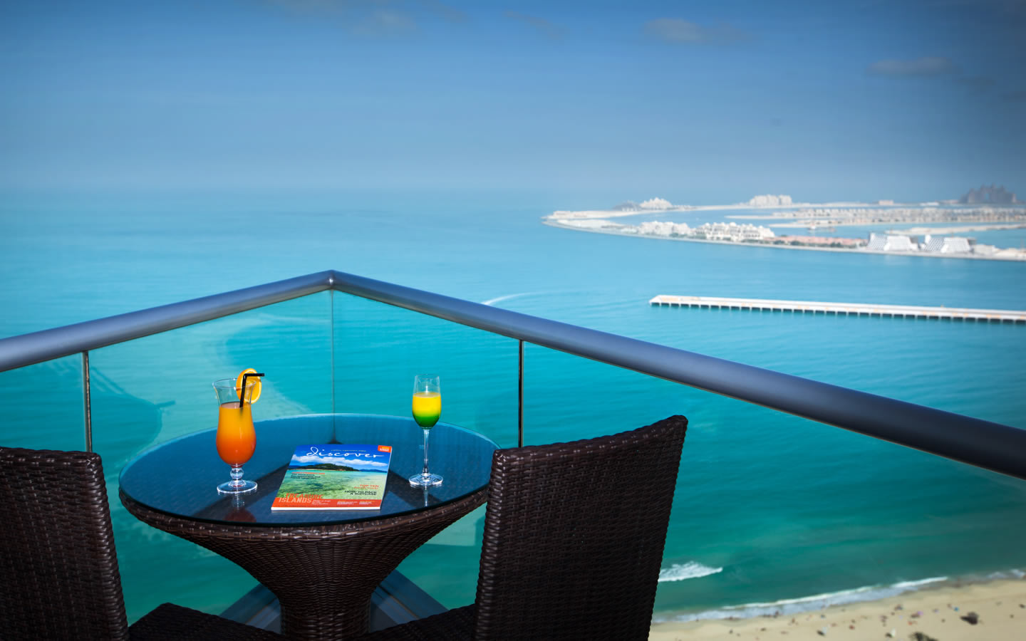 15 Best Outdoor Terraces in Dubai - JA Oasis Beach Tower Apartments