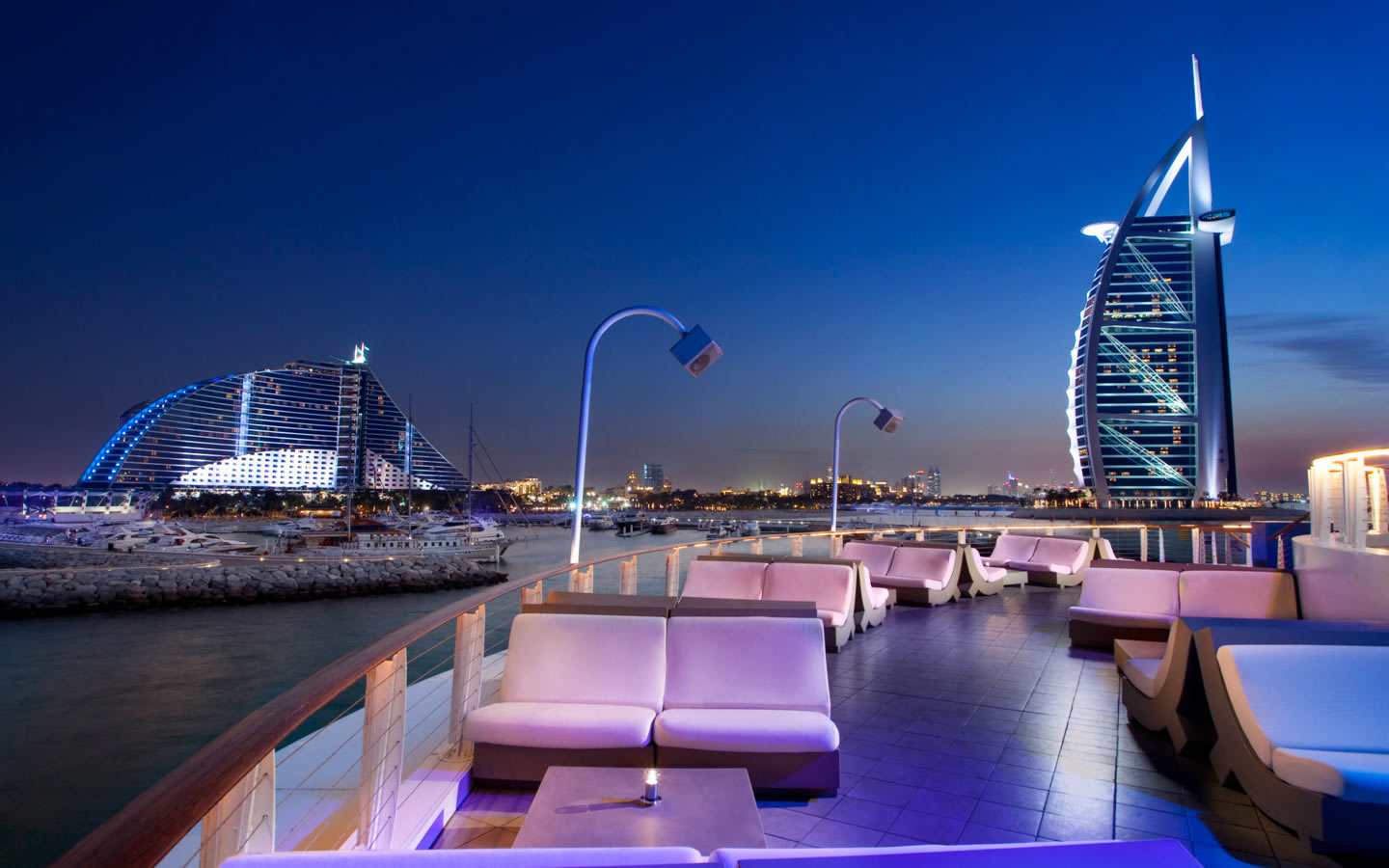 15 Best Outdoor Terraces in Dubai - 360 Jumeirah Beach Hotel