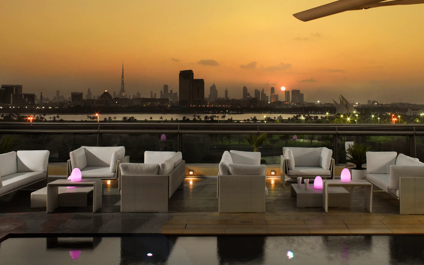 15 Best outdoor terraces in Dubai - Cu-ba, Jumeirah Creekside Hotel