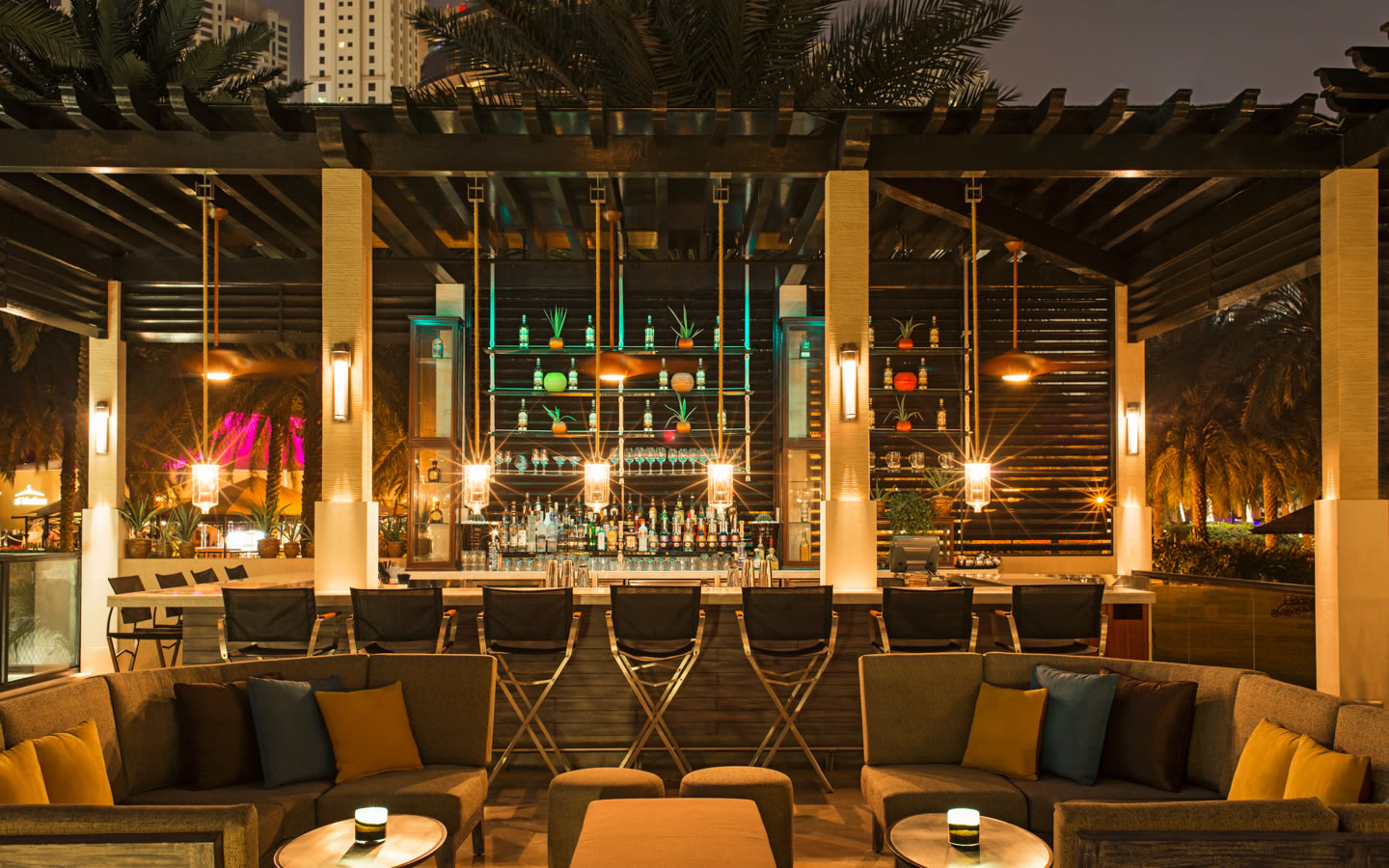 15 Best outdoor terraces in Dubai - Maya - Le Royal Meridien Beach Resort & Spa