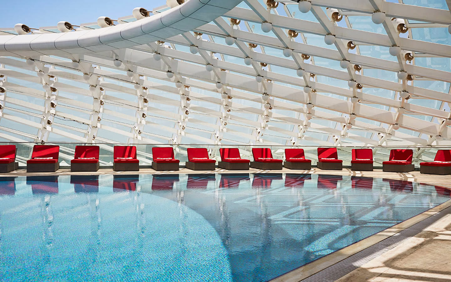 15 Best outdoor terraces in Dubai - Yas Viceroy Hotel, Abu Dhabi