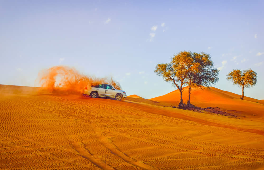 Dune Bashing - Adrenaline Experiences to try in Dubai