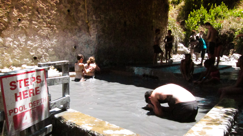 Sulphur Springs - Things to do in St Lucia