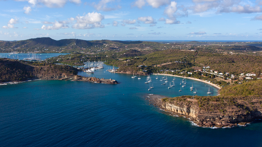 Views of English Harbour - Things to do in Antigua